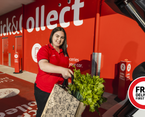 Click and Collect Coles Yamanto